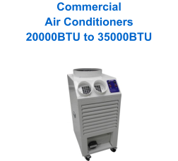 Commercial Air Conditioners 20000BTU to 35000BTU